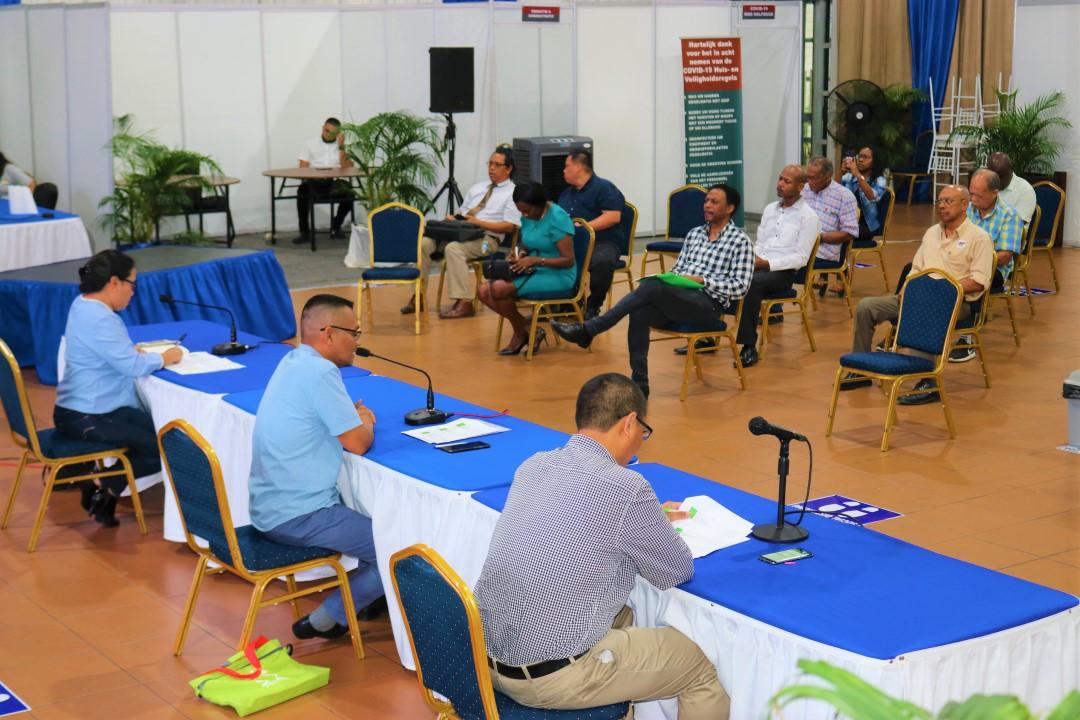 Biza bespreekt COVID-19 maatregelen met politieke organisaties