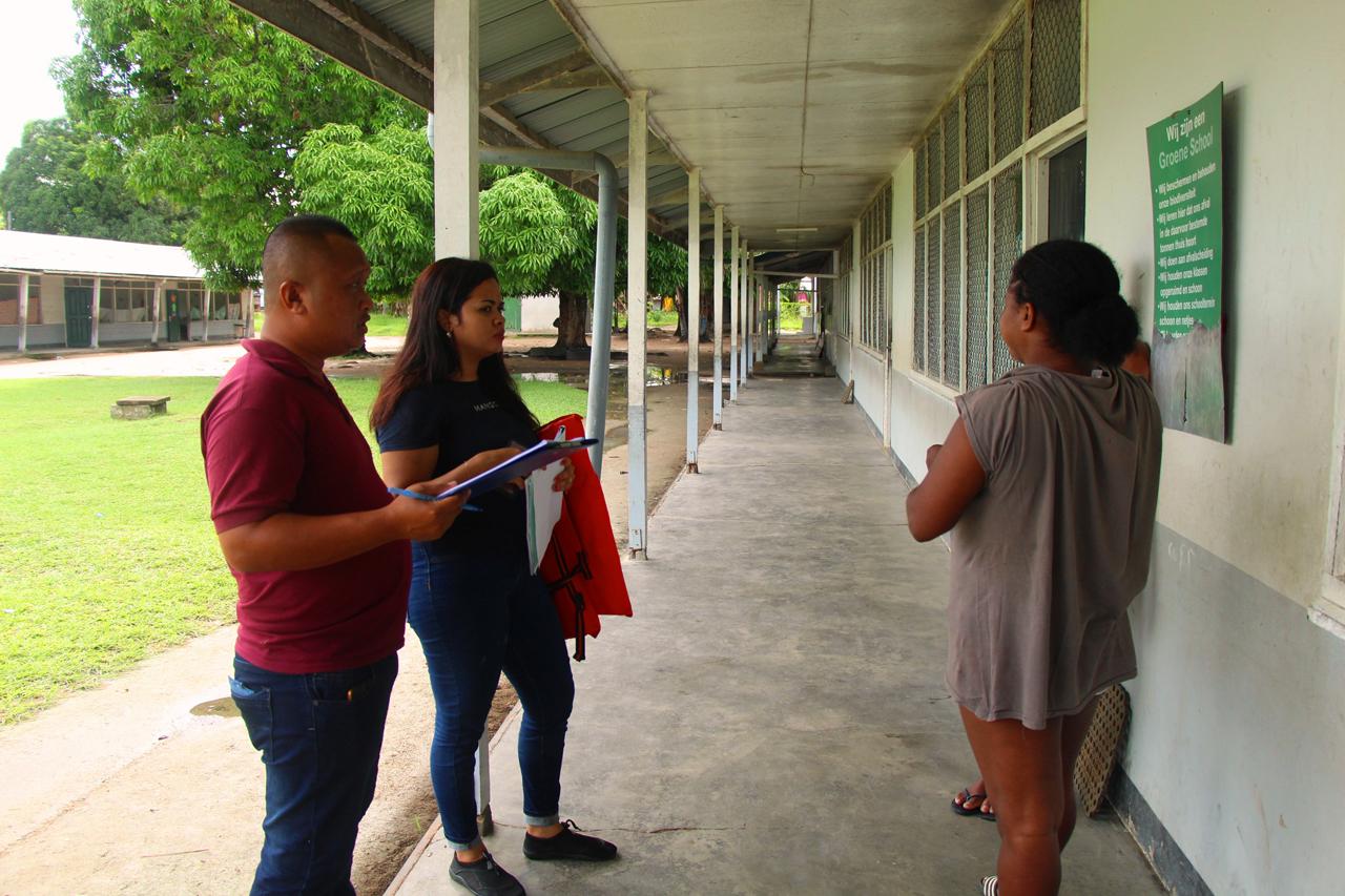 Werkgroep Legger controleert stembureaulocaties